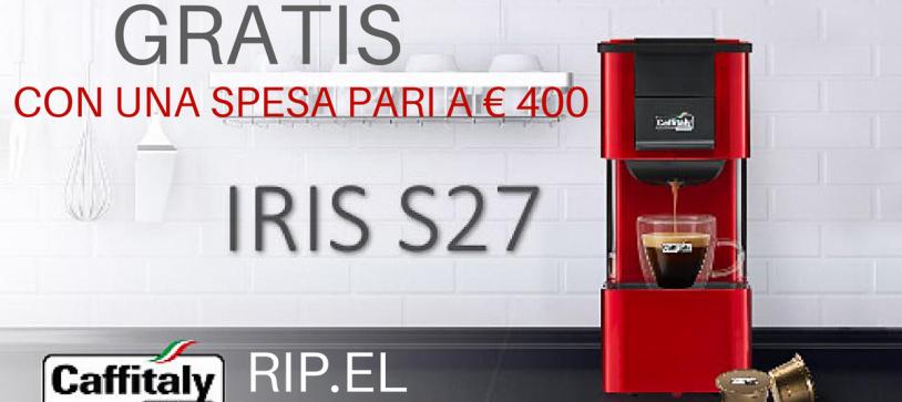 Macchina Caffè Espresso Caffitaly Iris S27 – GRATIS