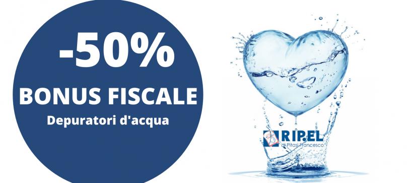 Acqua Pura! Approfitta del Bonus Depuratori 2021!